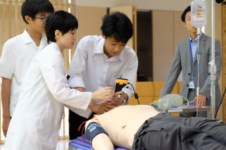 静岡県主催、医学部進学を目指す高校生を対象にこころざし育成セミナーを開催しています