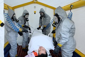 医療救護訓練
