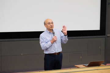 針山孝彦教授の最終講義