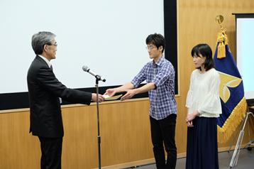 シンポジウム表彰式