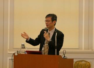 小林特任教授の講演