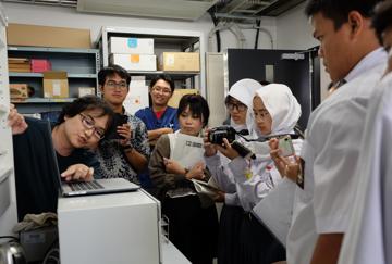 インドネシア共和国の高校生来学