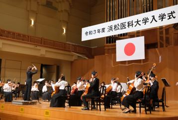 管弦楽団演奏