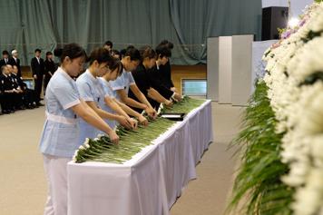 解剖体慰霊祭