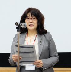 慶北大学校看護大学長 Hee‐Sook Kim